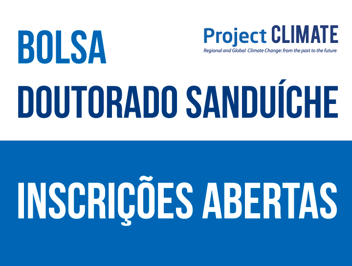 Bolsa Doutorado Sanduíche – Inscrições abertas – 19.10.2020