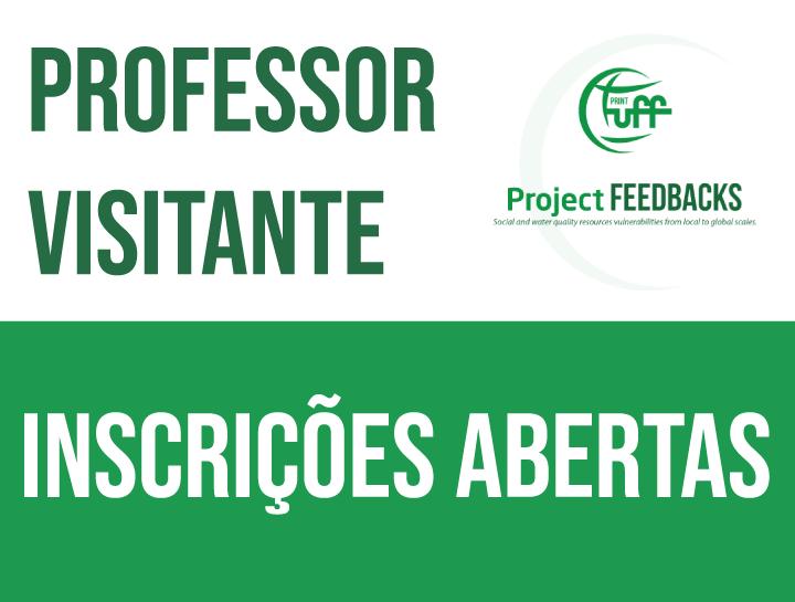 Proc. Seletivo – Prof. Visitante – Inscrições Abertas – 29.10.2020